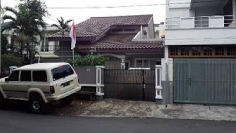 Rumah Gatot Brajamusti di Pondok Pinang, Jaksel