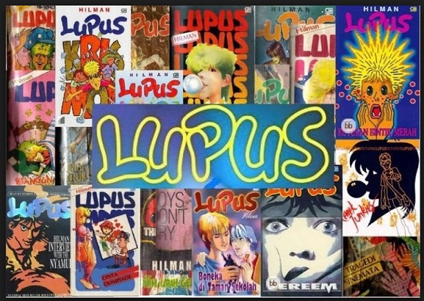 Novel Lupus Ikut Membantu Menumbuhkan Minat Membaca Buku