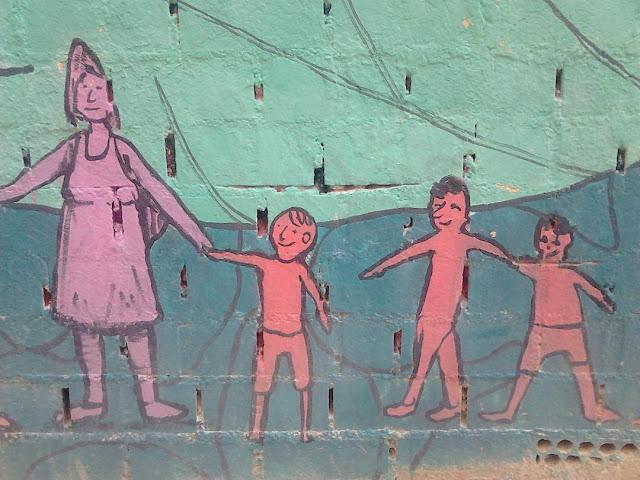 Lavapiés, grafiti