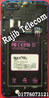 Maxtel Max-20 Flash File