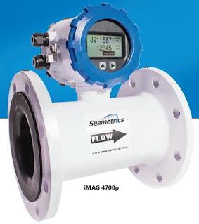 inline electromagnetic flow meter