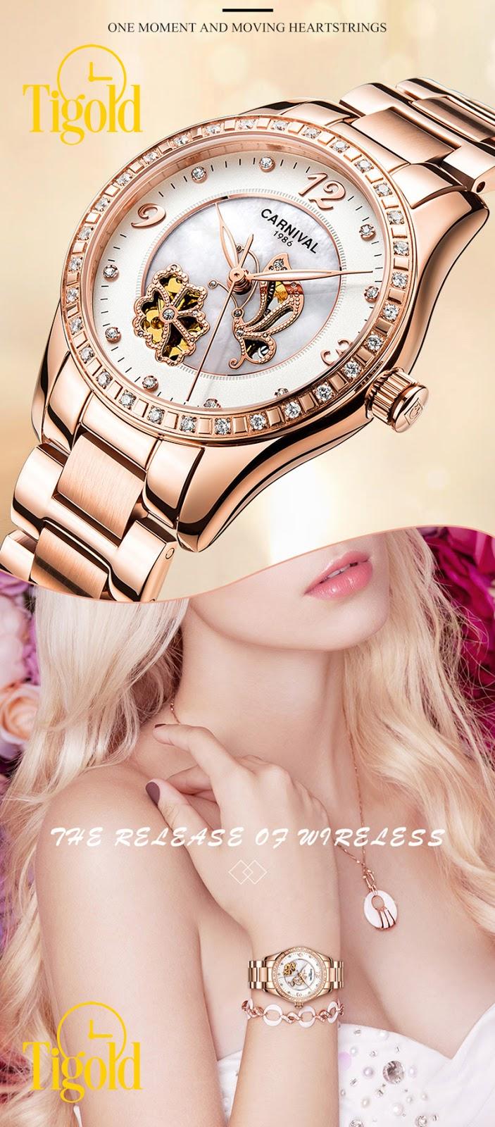 Đồng hồ nữ Carnival làm quà tặng 8-3