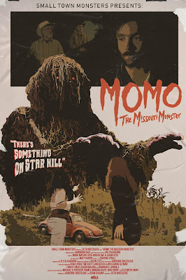 Momo: The Missouri Monster retro one sheet.