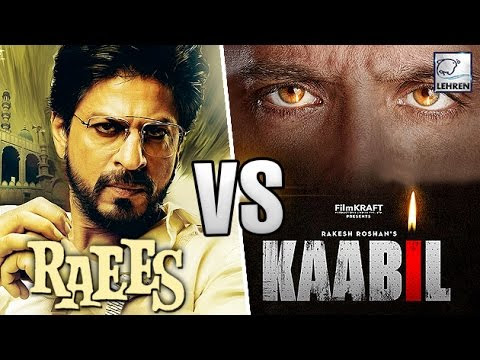 Kaabil v/s Raees Movie 1st Day, 2nd Day, 3rd Day Box Office Collection  And Public Reviews