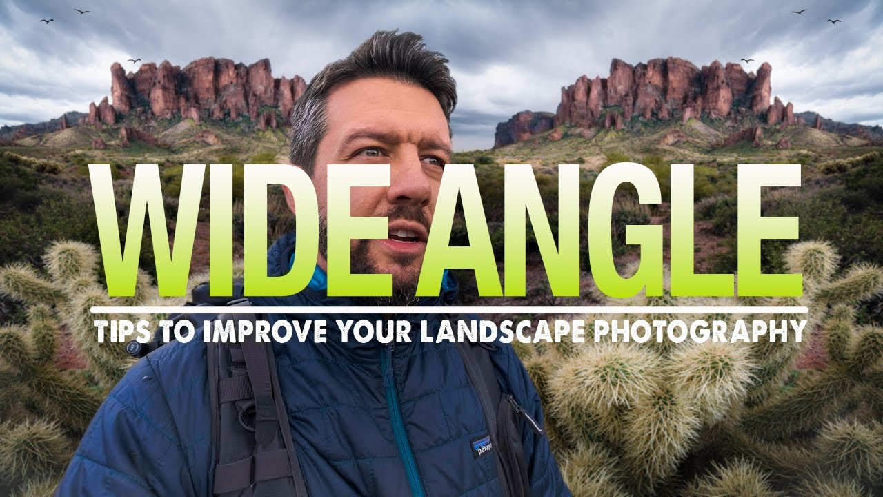 Create Powerful WIDE ANGLE Landscape Photos with these Easy ON LOCATION Tips