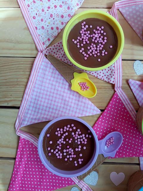 Natillas fáciles con bebida de avellanas y chocolate (en Monsieur Cuisine Plus) Borges Postre Verano Cuqui Fácil Sencillo Rápido Fresquito Cuca