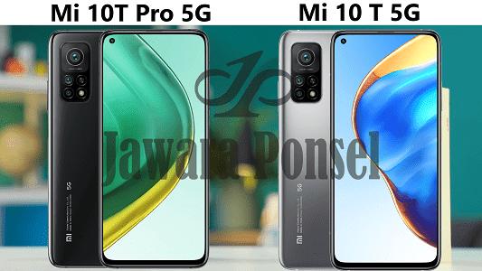 Perbedaan spesifikasi Xiaomi Mi 10T 5G VS Mi 10T Pro 5G