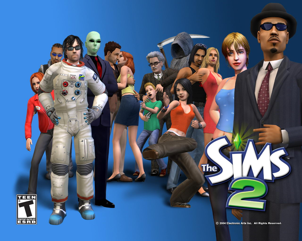 تحميل لعبة ذا سيمز الجزء الثاني - The Sims 2