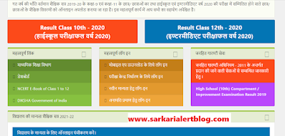 http://www.sarkarialertblog.com/2020/06/up-board-class-10th-12th-result-2020.html