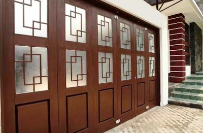 pintu garasi minimalis model kuno