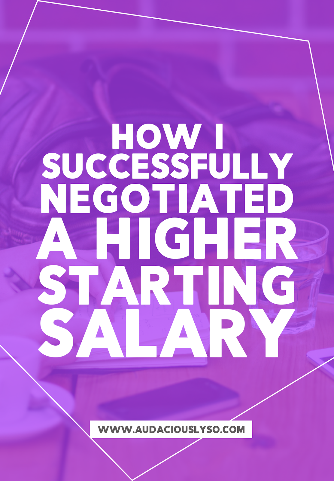 how i successfully negotiated a higher starting salary how i successfully negotiated a higher starting salary when you receive a job offer