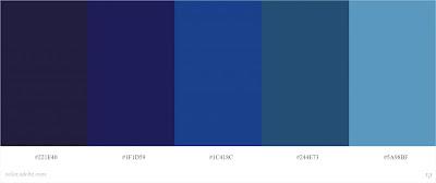 kode warna biru