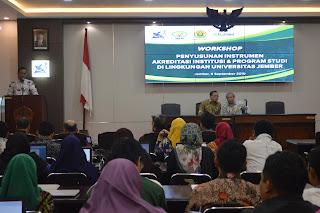 Hadapi Akreditasi, LP3M Universitas Jember Gelar Workshop Undang BAN-PT