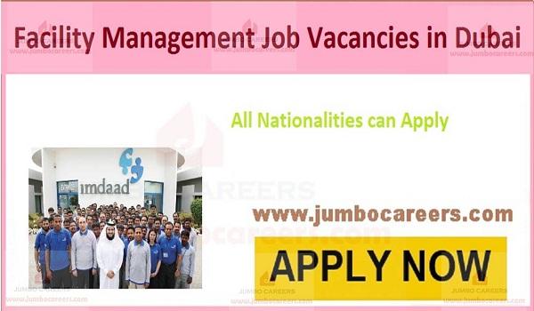 Imdaad UAE Careers| Facility Management Job Vacancies in Dubai