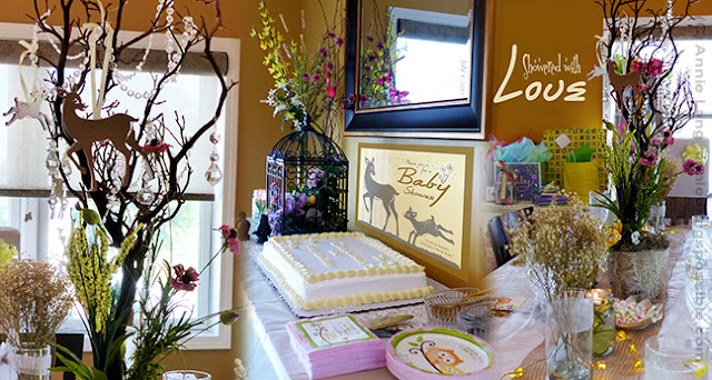 Fun ideas and decorating tips for a Nature Themed Baby Shower