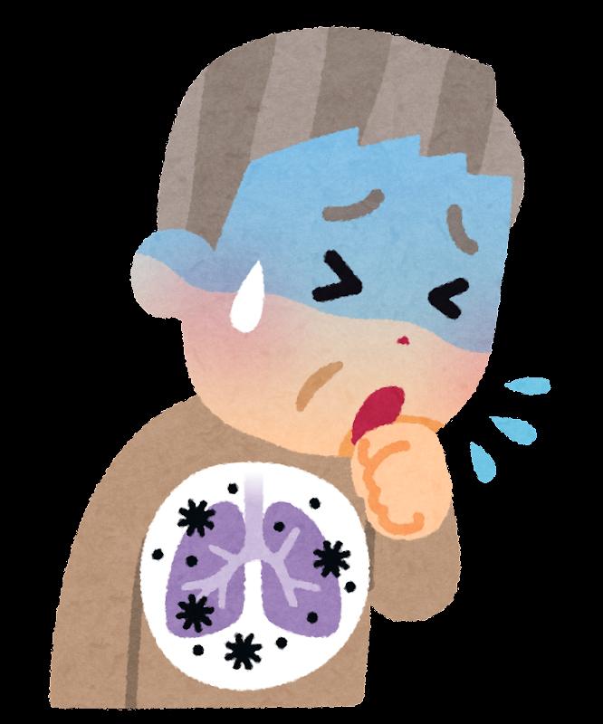 肺炎のイラスト | かわいいフリー素材集 いらすとや