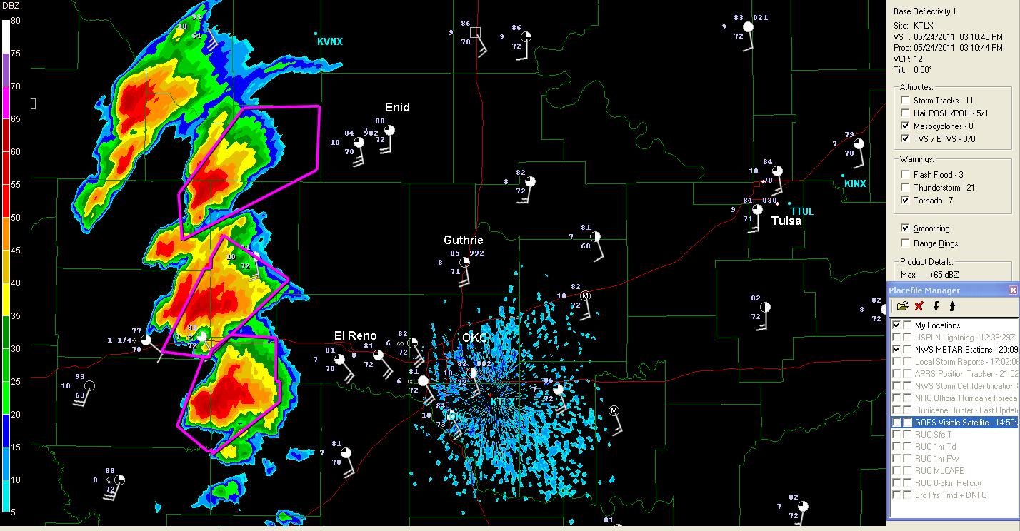 The Original Weather Blog: Severe Weather Update - Western Oklahoma