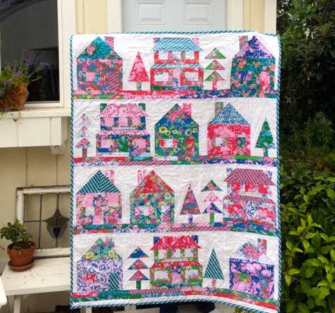 The Village Quilt Free Pattern