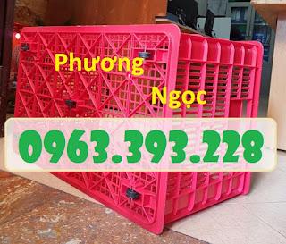 Sọt nhựa rỗng có bánh xe, sọt nhựa kéo hàng, sọt nhựa công nghiệp 9909fd5a8d4d6b13325c