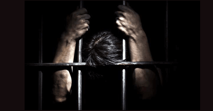 Image result for man in jail