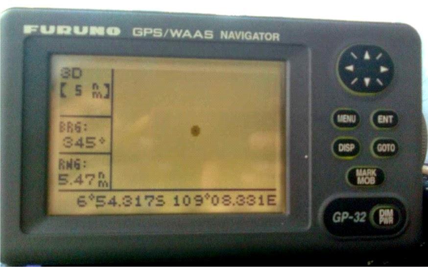 Layar GPS