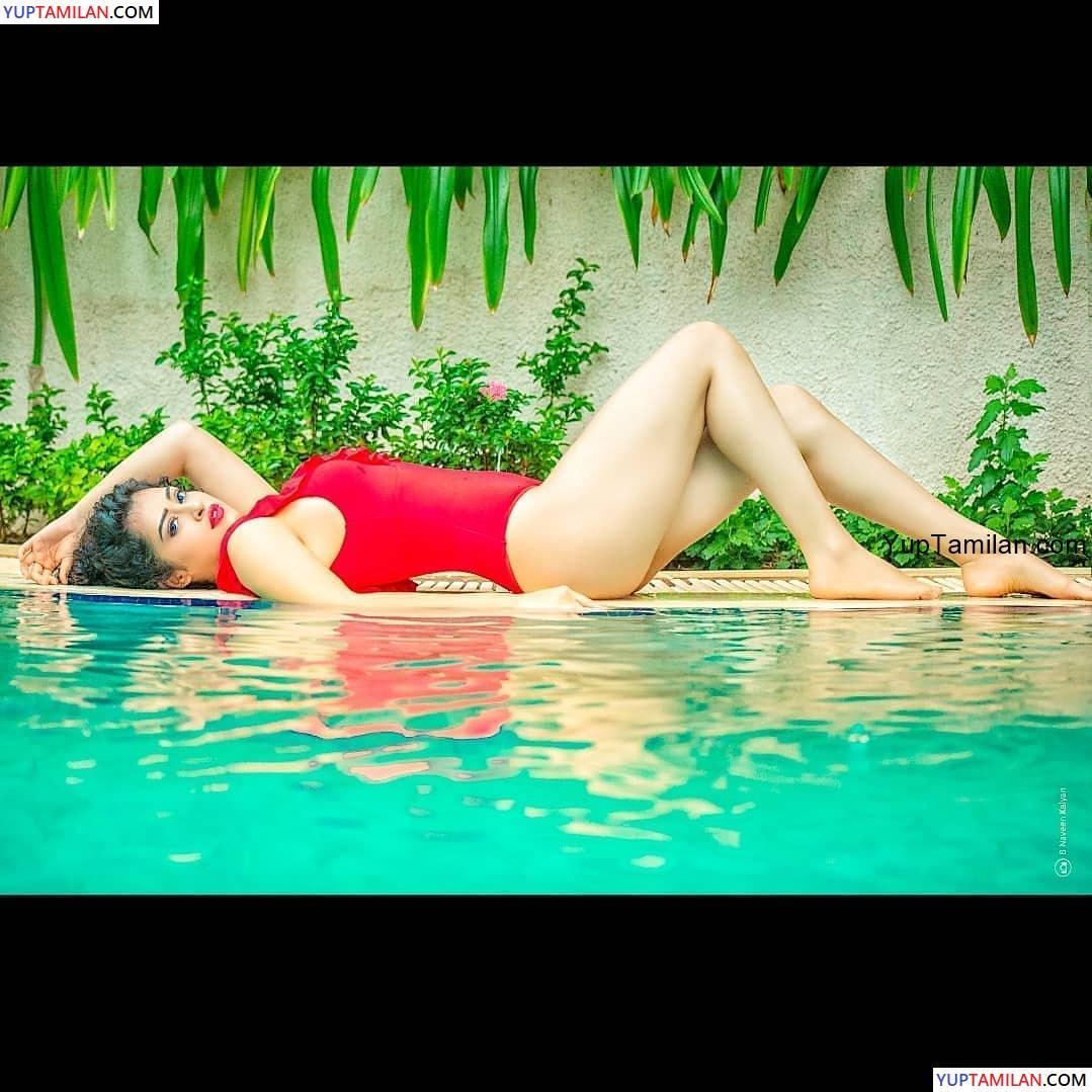 Apsara Rani Spicy Bikini Images- HD Photoshoot
