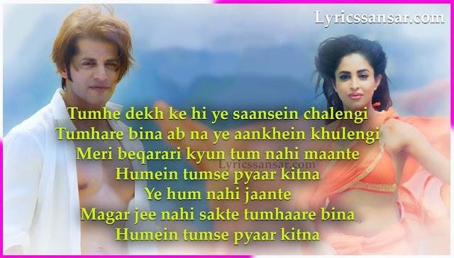 Hume Tumse Pyaar Kitna (Title Song) Lyrics : Shreya Ghoshal Ft. Kaaranvir Bohra