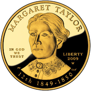 US Gold Coins Margaret Taylor First Spouse 10 Dollars Gold Coin