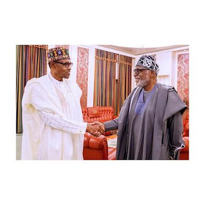 Marijuana : Buhari, Akeredolu Talks About Legalization - Read Details