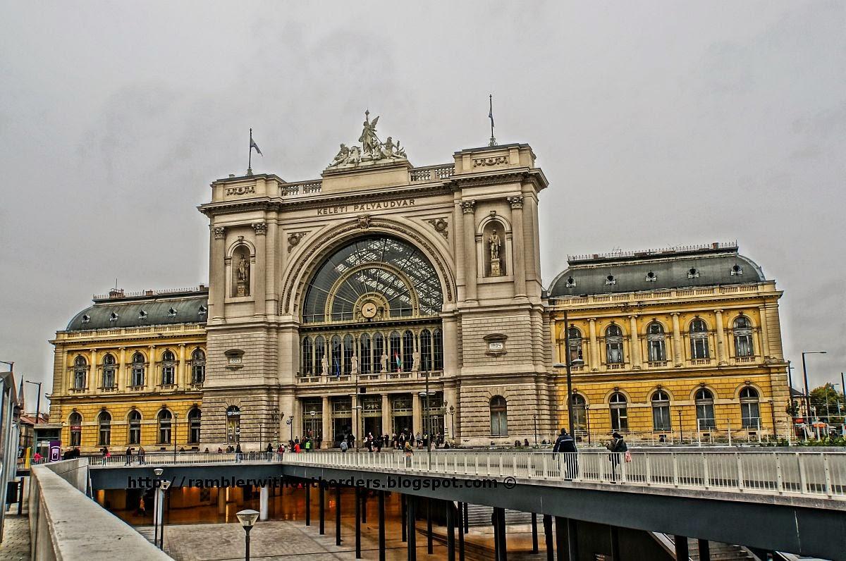 Keleti Terminal, Budapest, Hungary