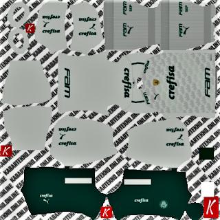 Palmeiras Away Kit DLS 2021