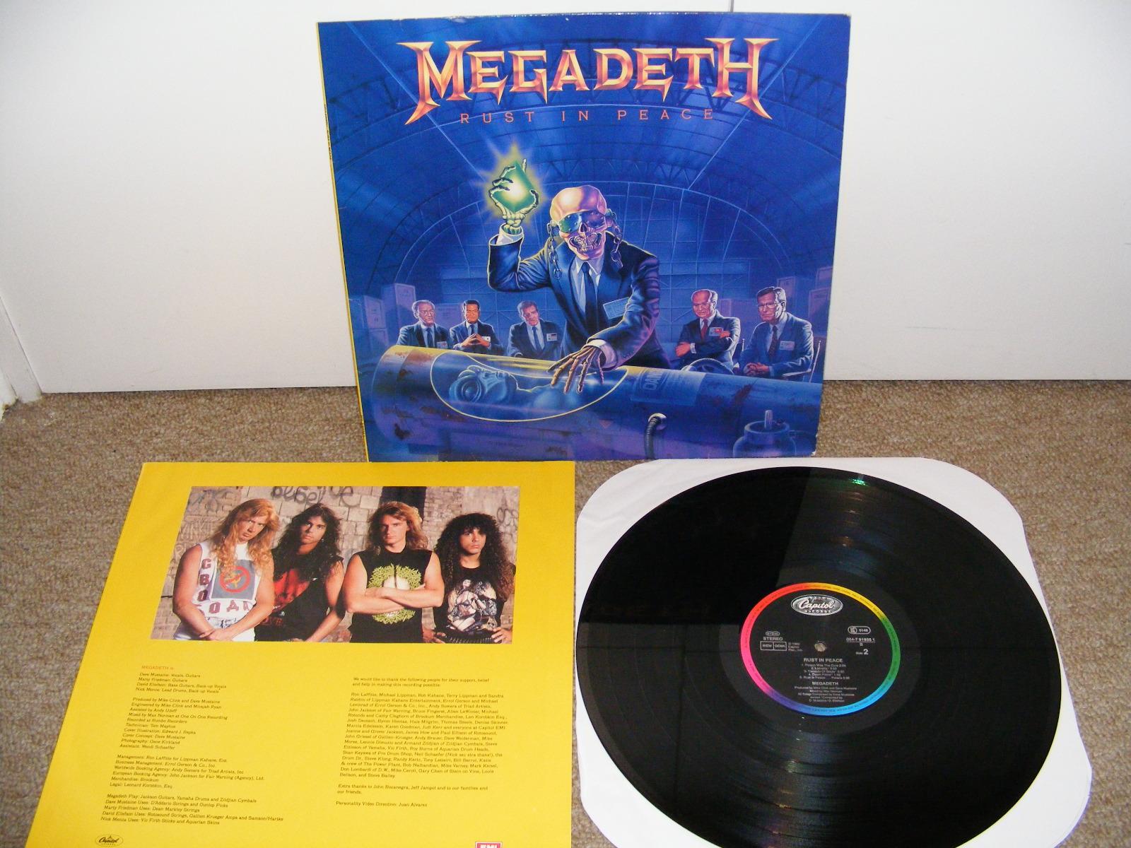 Vinilos Vinyl Megadeth Rust In Peace