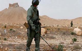 عاجل : الجيش السوري يزيل الغام من 11 بلدة بعد تحريرها