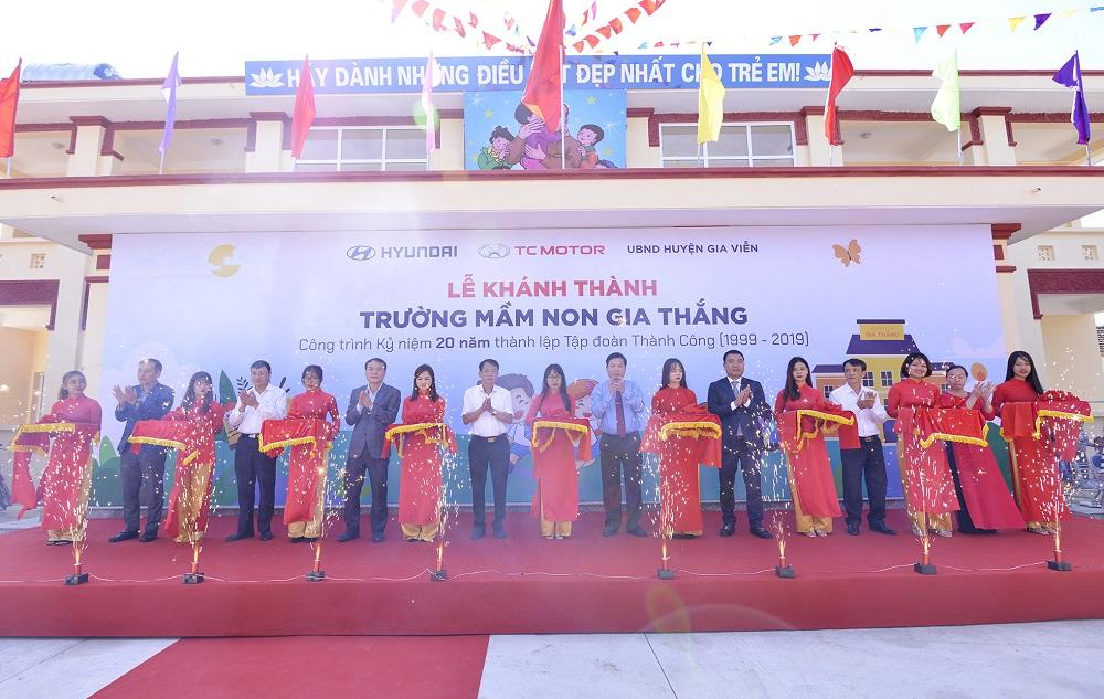TC Motor khánh thành trường mầm non chuẩn quốc gia tại Ninh Nình
