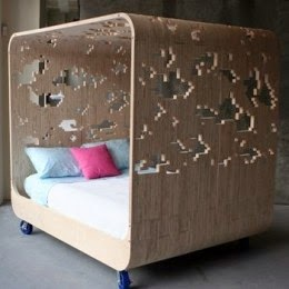 cloud canopy bed by courtney skott