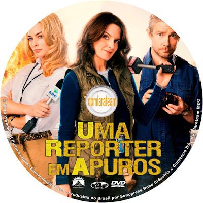 Label DVD Uma Repórter Em Apuros