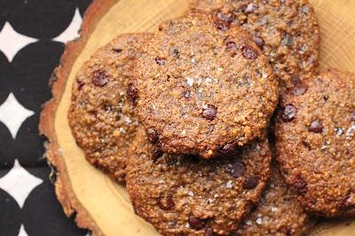 cookies sans gluten choco gingembre noisettes