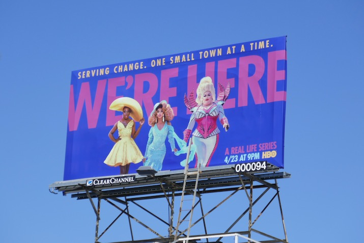 Were Here series launch billboard