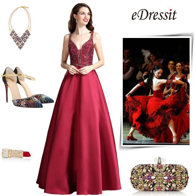burgundy beaded plunging v neck floor length formal dress