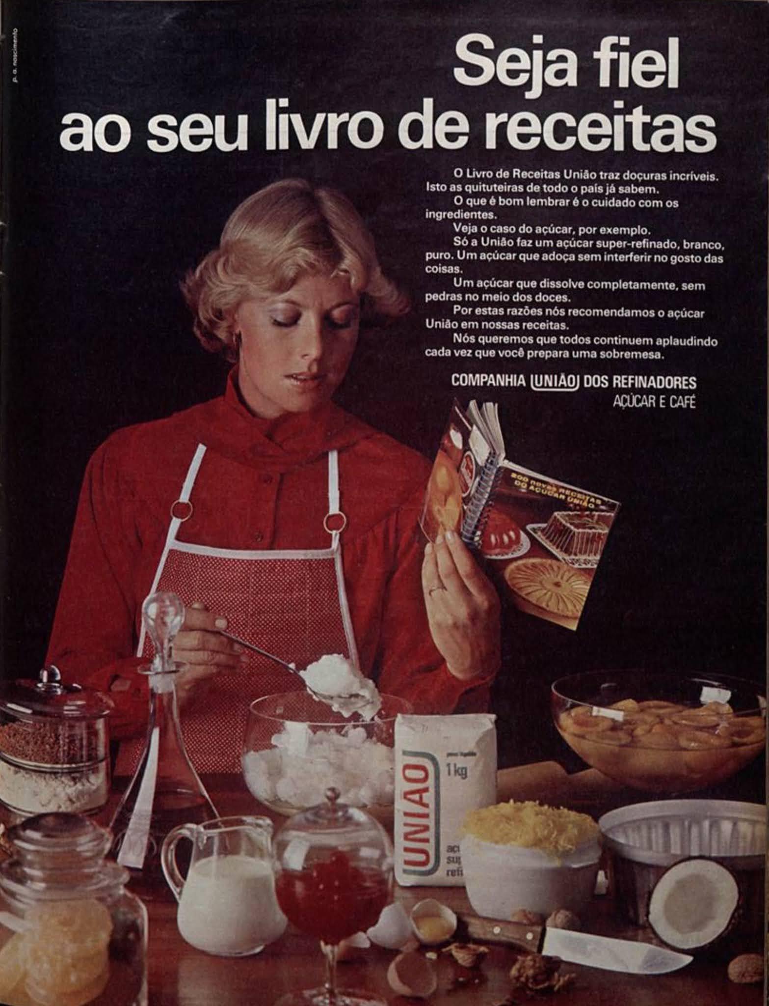 Propaganda antiga do Açúcar União veiculada em 1977