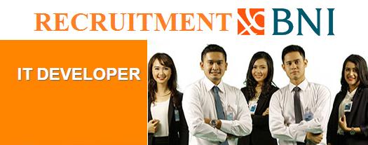 Job Specification IT DEVELOPER of BNI