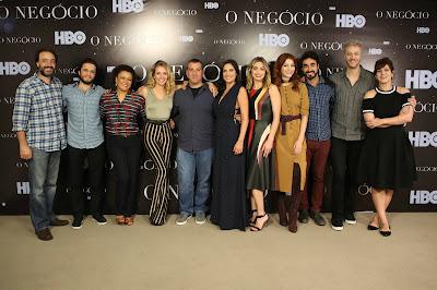 O lançamento reuniu o elenco e a direção da série, que estreia no dia 24 de abril, às 21h - Divulgação/HBO