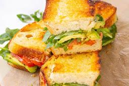 Roasted Tomato Sandwiches with Vegan Lemon Garlic Aioli