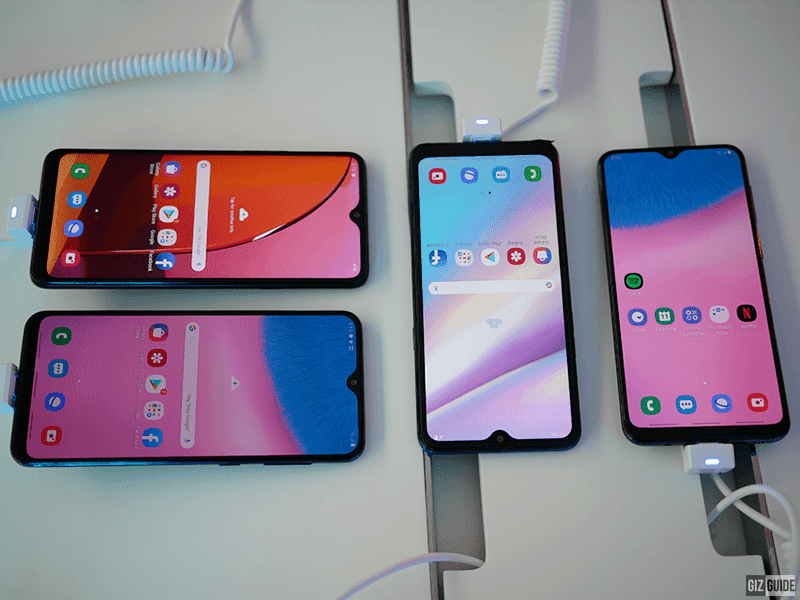 The entire affordable Galaxy A series line