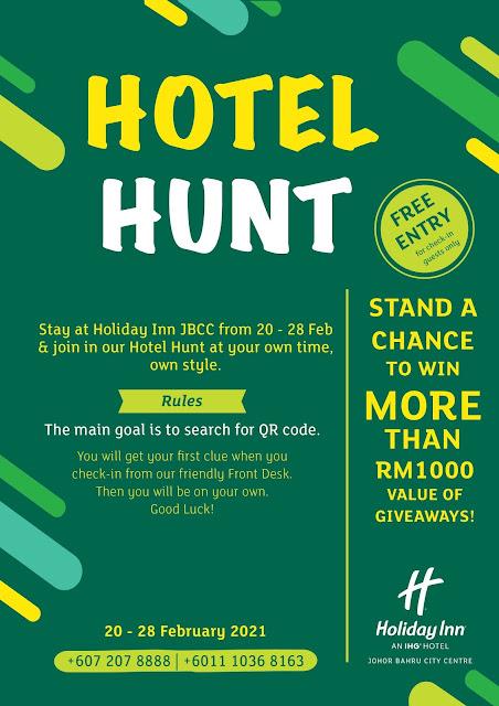 Hotel Hunt @ Holiday Inn Johor Bahru City Centre