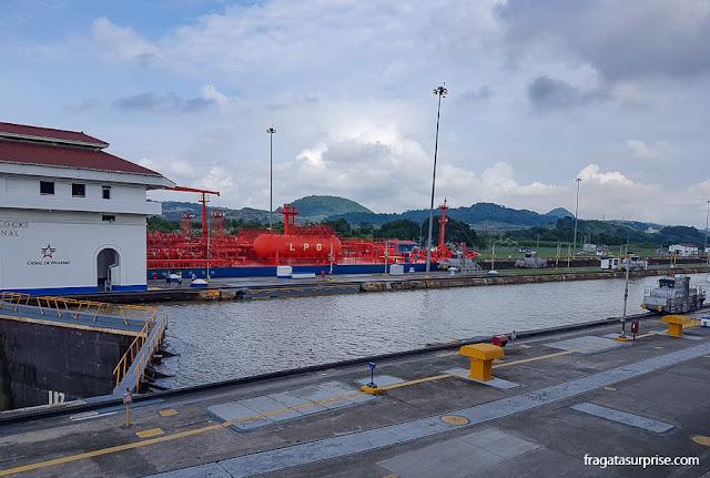 Eclusas de Miraflores, Canal do Panamá