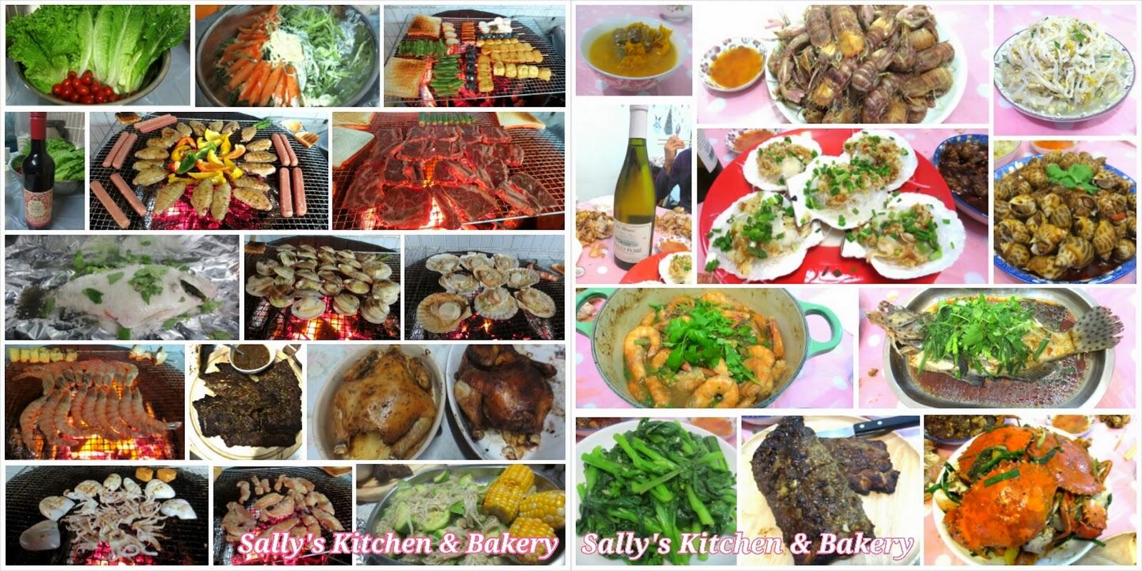 Sally's Kitchen & Bakery: 週未BBQ大派對 & 週日海鮮私房菜