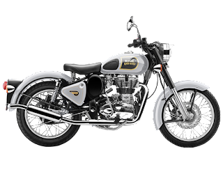 Royal Enfield Classic 350 Silver 2018 color Image