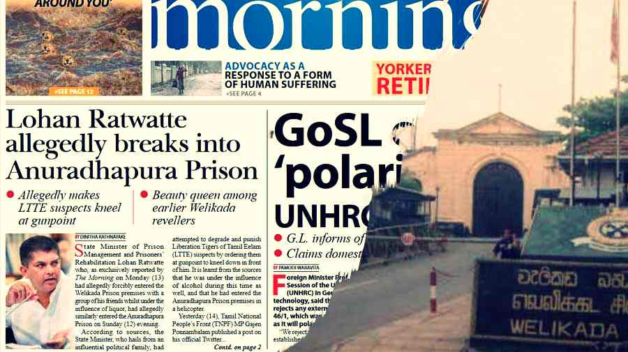 Prison-riots-caused-by-Minister-of-State-Lohan-and-the-beauty-queen-The-Morning-revealed