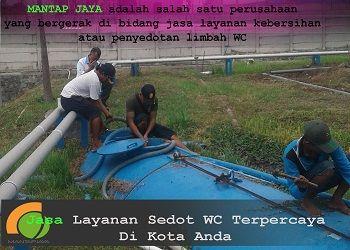 Jasa Sedot WC area Kecamatan Menganti harga murah